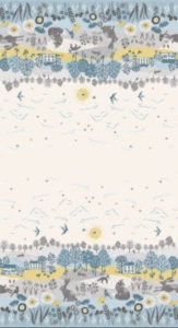 """Grove"" fabric by Makower fabrics"