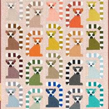 A picture of Lana Lemur Quilt Pattern