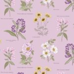A picture of Lewis and Irene Botanic Garden fabric