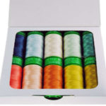 A picture of Aurifil threads