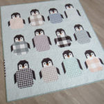 A picture of Penguin Party Quilt Kit