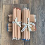 A picture of some Bohin chalk pencils