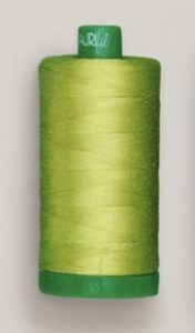 A picture of Aurifil 40wt thread