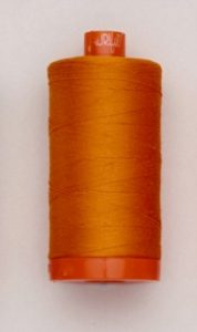 A picture of Aurifil 50wt thread