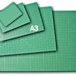 A picture of an A3 size cutting mat