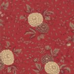 A picture of Le Beau Papillon fabric by Moda