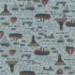 A picture of Ship To Shore fabric by Lynette Anderson