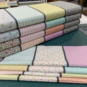 A picture of Moda fabrics Fine and Sunny range