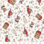 A picture of Scandinavian Christmas fabric by Lynette Anderson