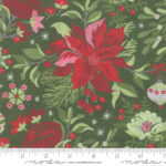 A picture of Naughty or Nice fabric by Moda
