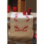 Table Runner Kit Red Leaf Design £29.50