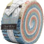 A picture of Best of Morris - Spring Jelly Roll by Moda