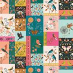 A picture of Aviary fabric panel by Dashwood Studio